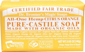 Dr. Bronner's Citrus Orange Soap