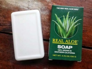 Real Aloe Soap 100% Grown in Southern California