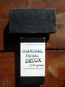 destiny boutique charcoal soap