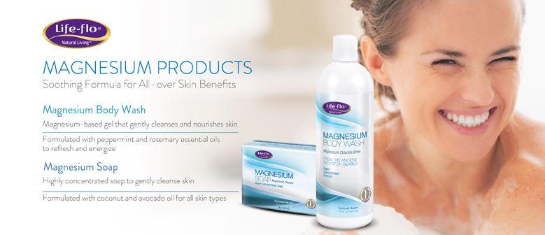 Magnesium Body Wash And Soap by life-flo.