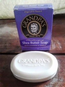 Grandpa's Moisturizing Shea Butter Soap with Lavender & Vanilla