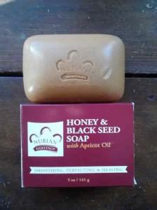 Nubian Heritage Honey Black Seed Soap